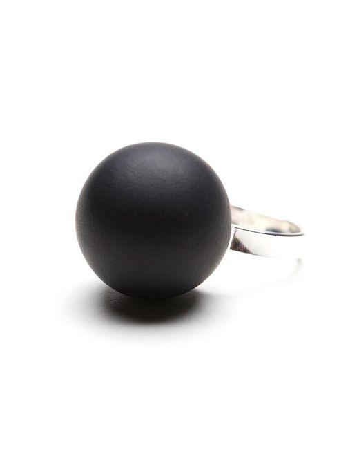 Hring Eftir Hring | Black Pirouette Coal Ring | Lyst
