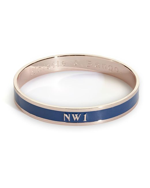 Whistle & Bango | Blue Nw1 Bangle | Lyst