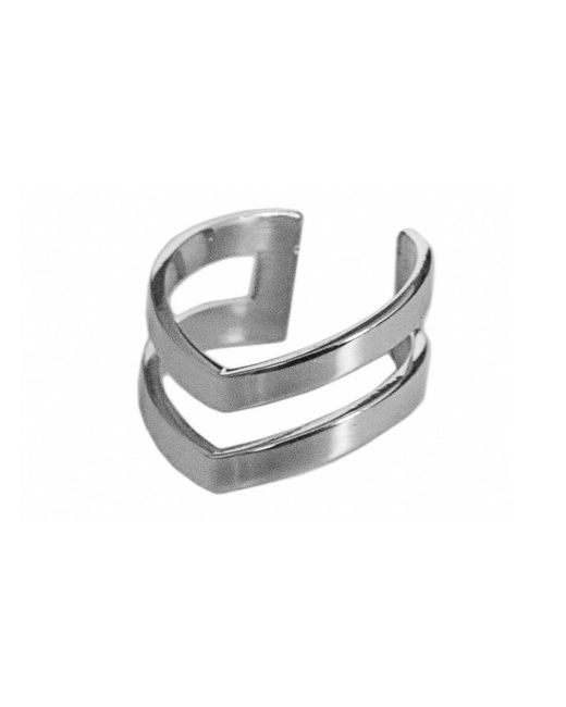 Dutch Basics | Metallic The Knuckle Point Ring | Lyst