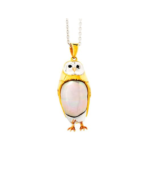 London Bird | Metallic The Owl | Lyst