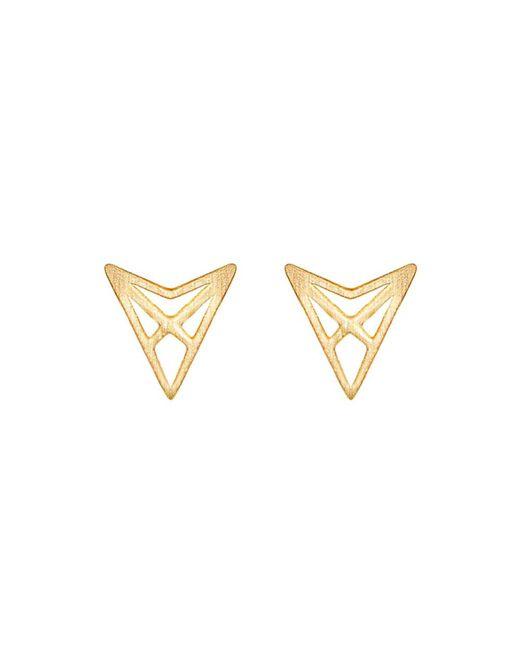 Dutch Basics | Metallic Hef Studs Gold | Lyst