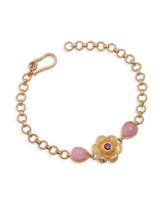 Emma Chapman Jewels - Gypsy Rose Ruby & Pink Tourmaline Bracelet - Lyst