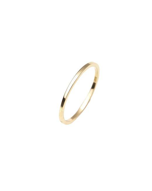Isabel Lennse - Metallic Extra Thin Plain Gold Ring - Lyst