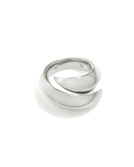 Kasun - Metallic Vampire Claw Ring Silver - Lyst