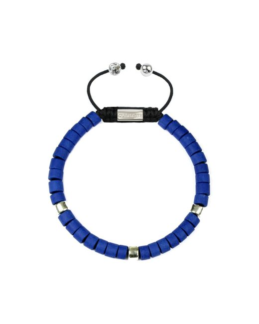 CLARISTE JEWELRY | Men's Ceramic Bead Bracelet Blue & Silver for Men | Lyst