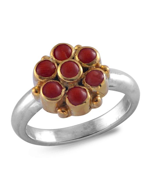 Emma Chapman Jewels - Metallic Bellina Coral Ring - Lyst