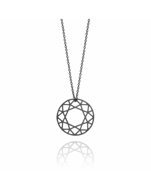 Myia Bonner | Medium Black Brilliant Diamond Necklace | Lyst