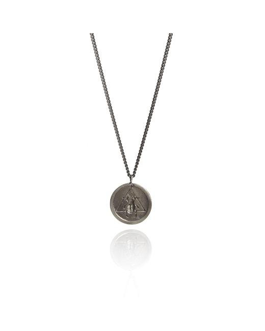 Rachel Entwistle | Metallic The Scarab Pendant Silver | Lyst