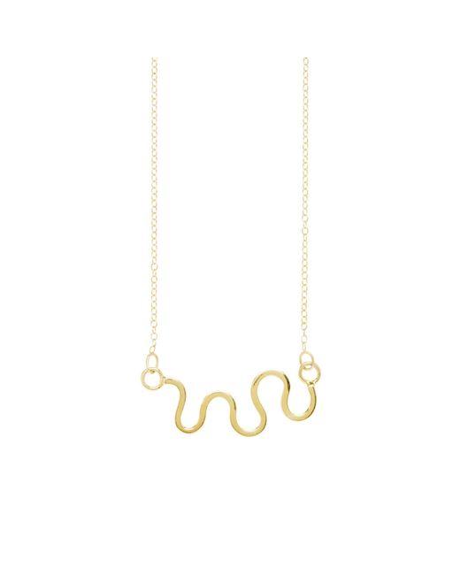 Dorota Todd | Metallic Loop Necklace | Lyst