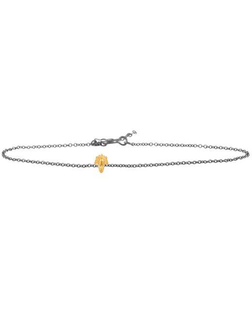 Lee Renee   Metallic Tiny Voodoo Legba Bracelet Gold & Silver   Lyst