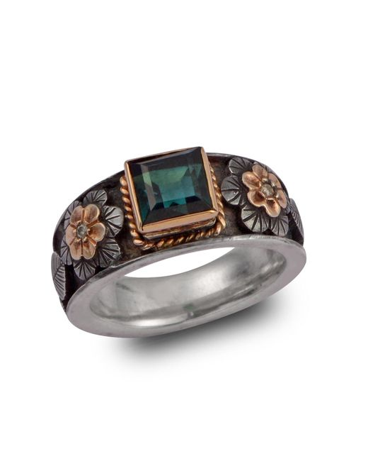 Emma Chapman Jewels | Brown Tourmaline And Diamond Treasure Ring | Lyst
