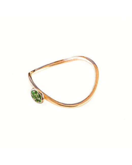 Sadekar Jewellery | Metallic Emerald Ring Rose Gold | Lyst
