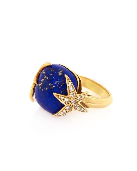 Alexandra Alberta | Blue Starry Night Ring | Lyst