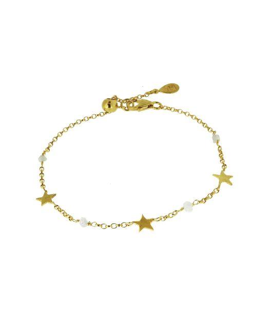 Yvonne Henderson Jewellery - Metallic Diamond Nugget & Tiny Star Bracelet - Lyst