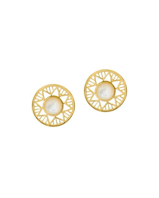Alexandra Alberta | Metallic Chelsea Earrings | Lyst
