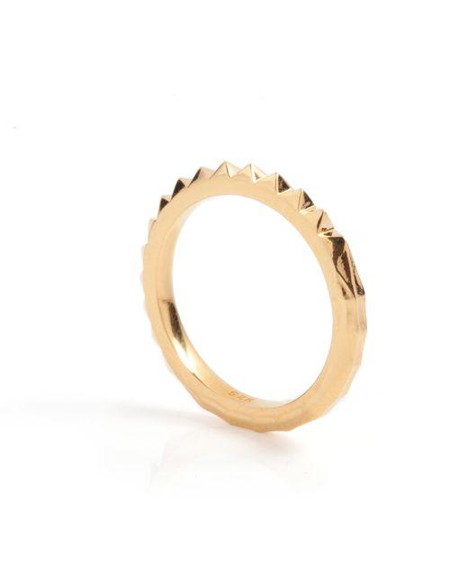 Kasun - Metallic Crocodile Ring Gold - Lyst