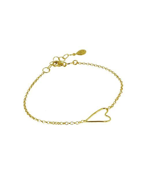 Yvonne Henderson Jewellery - Metallic Open Wire Heart Bracelet - Lyst