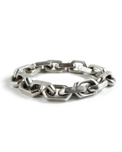 Frederick Grove - Metallic Heavy Link Bracelet - Lyst