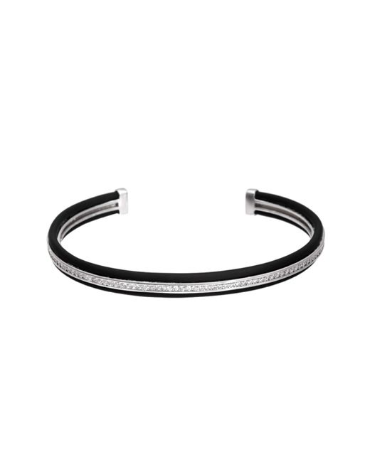 Opes Robur | Metallic Silver & Black Stopper Stackable | Lyst