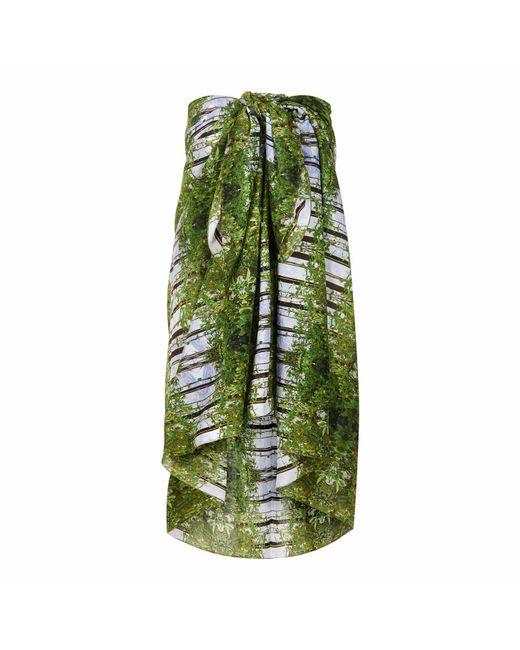 Pam Weinstock London | Green Bella Toscana Cotton Sarong | Lyst