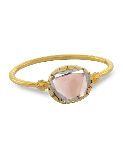 Emma Chapman Jewels - White Grecian Gold Diamond Ring - Lyst