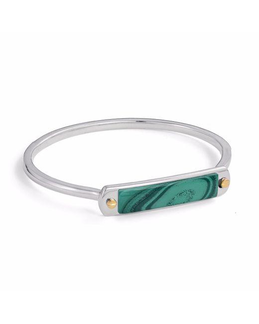LMJ - Green Malachite Small Id Cuff Bracelet - Lyst