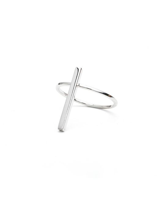 Isabel Lennse | Metallic Short Rod Ring | Lyst