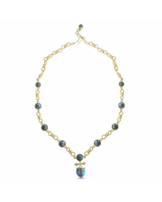 LMJ - Metallic Twisted Rays Necklace - Lyst