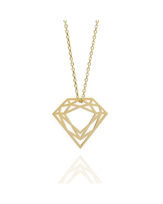 Myia Bonner | Metallic Gold Classic Diamond Necklace | Lyst