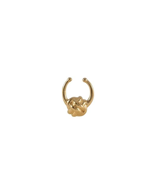 MARIE JUNETM Jewelry - Metallic Monkey Paw Knot Gold Septum Ring - Lyst