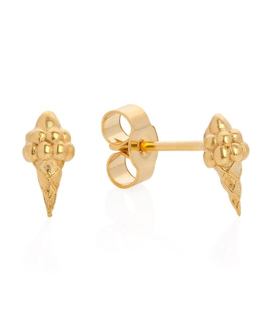 Lee Renee | Metallic Ice Cream Studs | Lyst