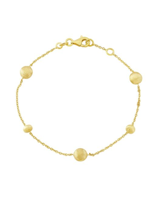 Auree Jewellery - Metallic Garda Yellow Gold Nugget Bracelet - Lyst