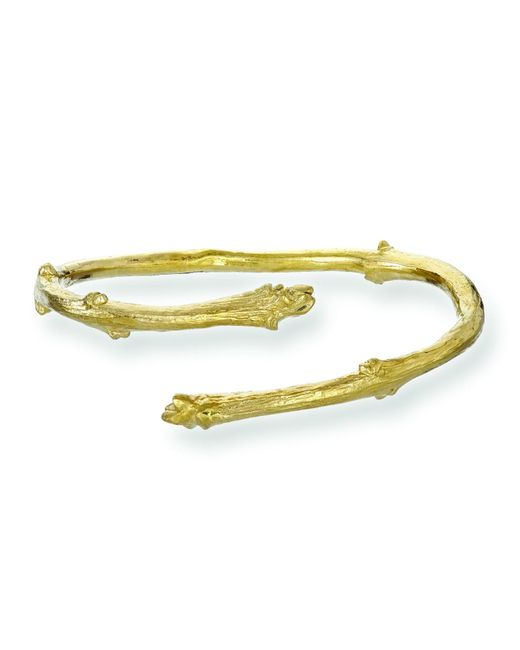 Chupi - Metallic I Can Be Your Strength Twig Bangle Gold - Lyst