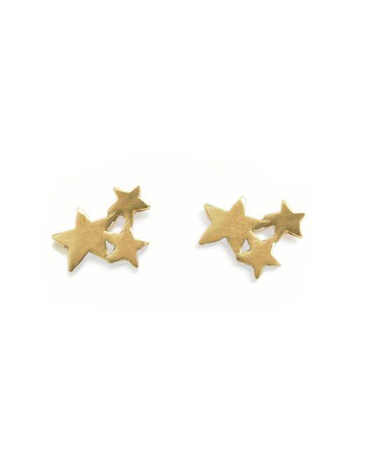 Bark   Metallic Milky Way Earrings   Lyst