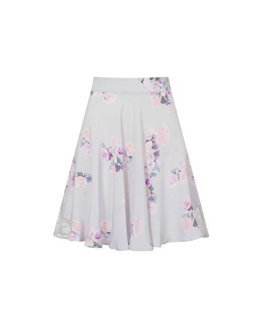 Sophie Cameron Davies - Multicolor Rose Silk Skirt - Lyst