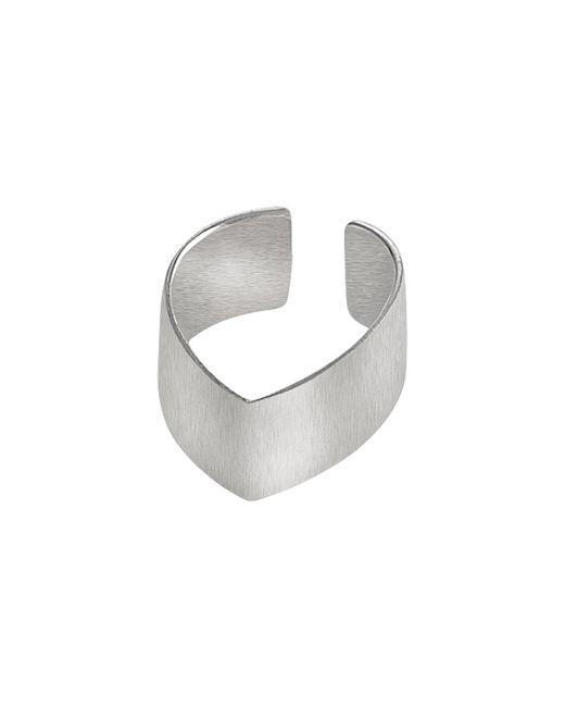 Dutch Basics - Metallic Silver Point Ear Cuff - Lyst