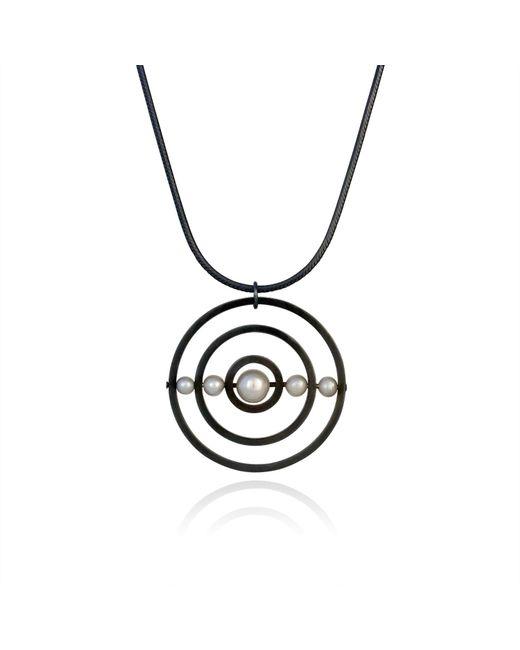 Cara Tonkin | Black Orbit Solaris Pendant Oxidised Silver | Lyst