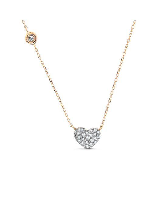 Cosanuova - Metallic Hamsa Necklace 14k Rose Gold - Lyst