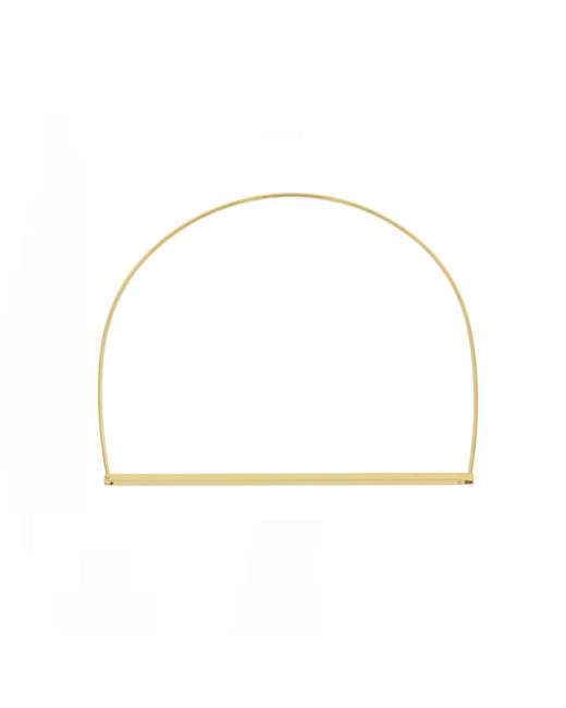Opes Robur - Metallic Gold Slim Line Choker - Lyst