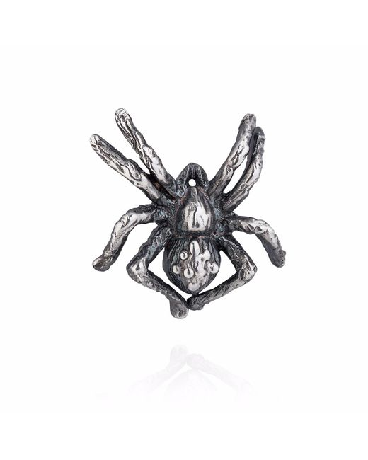 Yasmin Everley Jewellery | Metallic Little Spider Lapel Pin | Lyst
