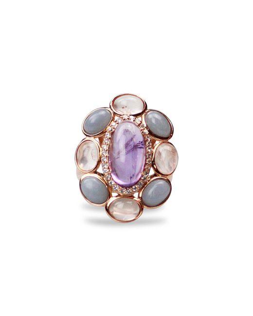 Bellus Domina - Multicolor Amare Angelite Ring - Lyst