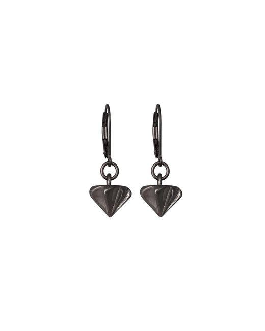 Edge Only | Countersink Earrings Black | Lyst