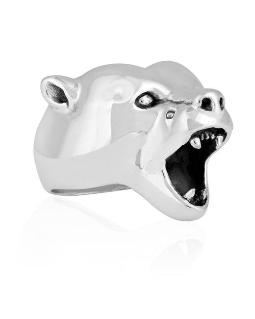 Strange Fruit - Metallic Bear Ring Silver - Lyst