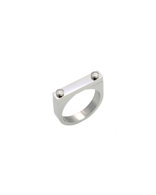 Opes Robur - Metallic Opes D2 Ring Silver - Lyst
