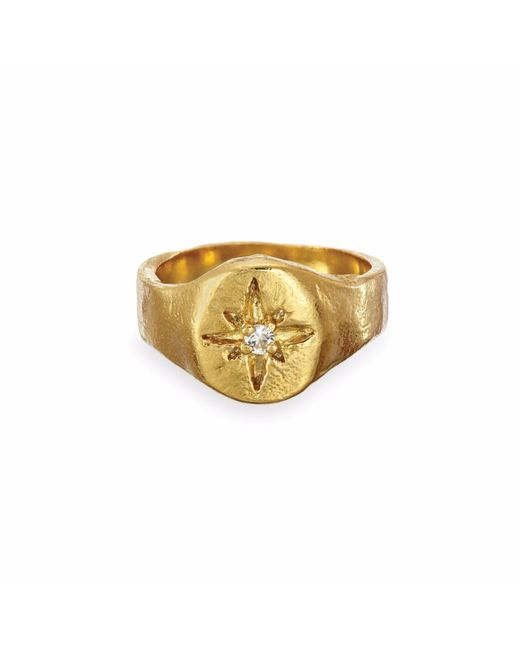Chupi - Metallic Your North Star Ring In Gold - Lyst