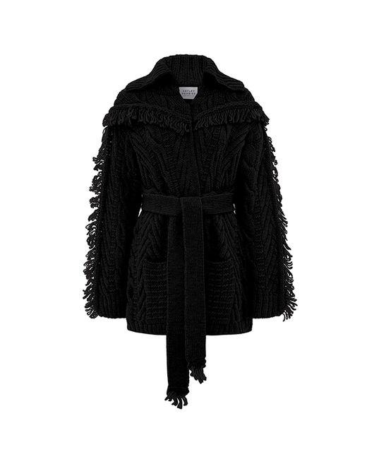 Hayley Menzies - Short Etta Cardi-coat Black - Lyst