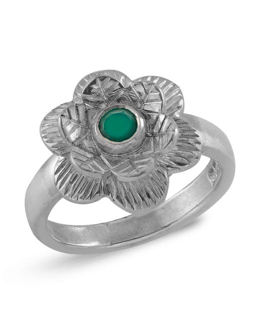 Emma Chapman Jewels - Gyspsy Rose Green Onyx Ring - Lyst