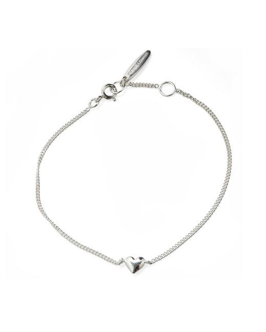 Isabel Lennse - Metallic Mini Heart Bracelet - Lyst