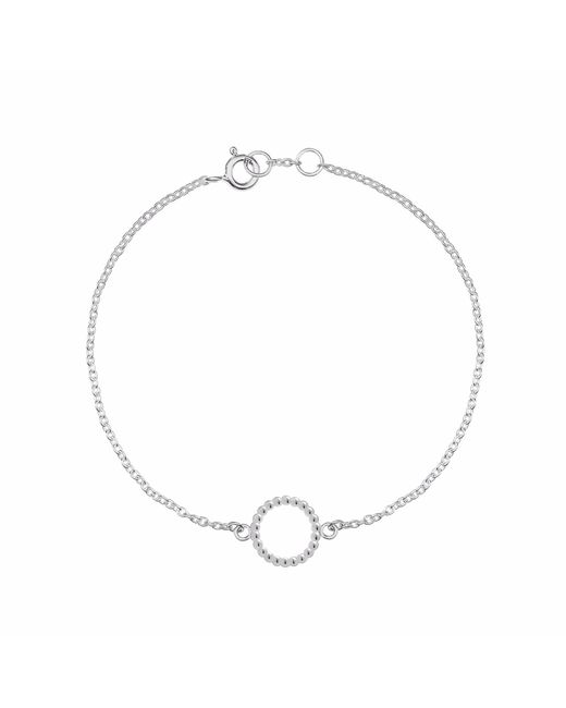 Myia Bonner | Metallic Silver Mini Ball Circle Bracelet | Lyst