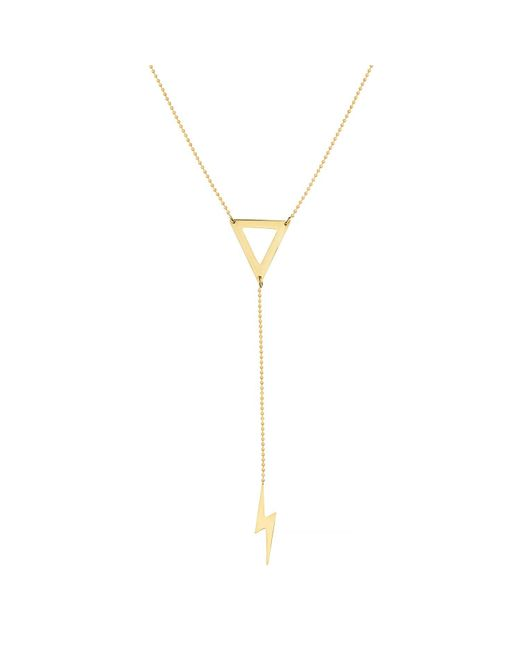 Talia Naomi - Metallic Khaleesi Necklace Gold - Lyst